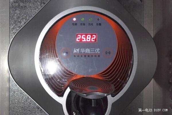 北汽EV200车主分享二代充电桩 远程监控使用方法高清图片
