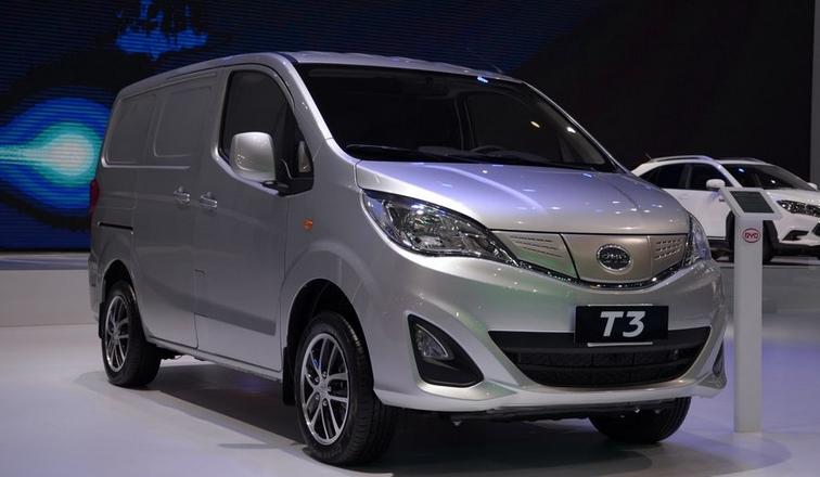 比亚迪汽车公司发力电动物流汽车行业领域